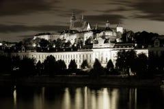 Prague at nigh Royalty Free Stock Images