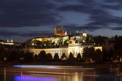 Prague at nigh Royalty Free Stock Photo