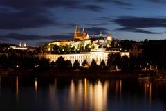 Prague at nigh Royalty Free Stock Photography