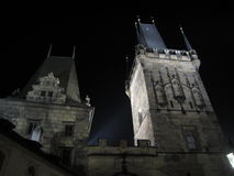 Prague by night. Castle of Prague by night old building nice screensaver or postcard Stock Photo