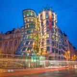 Prague at Night Stock Image