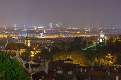 Prague at night. Stock Image