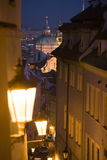 Prague night scenery Royalty Free Stock Photography