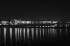Prague by Night Stock Image