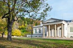 PRAGUE - NOVEMBER 8, 2014 - Kinsky slott Musaion, Prague, tjeck Fotografering för Bildbyråer