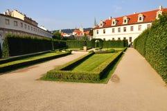 prague ogrodowy wallenstein Obrazy Royalty Free
