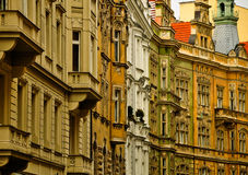 prague okno Fotografia Royalty Free