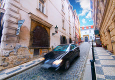 Prague. Old, charming street Royalty Free Stock Photo
