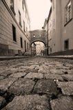 Prague. Old, charming street Royalty Free Stock Image