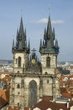 Prague. old church Royalty Free Stock Photography