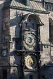 Prague - Old City Hall clock Stock Image