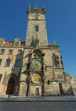 Prague Old City Hall Clock Tower Stock Images