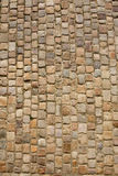 Prague old road. Stone structure of old Prague road. Background texture Stock Photos
