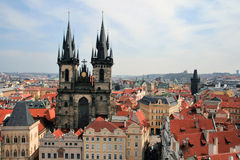 Prague. Old square stock photography