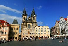 Prague Old Town Royalty Free Stock Photo