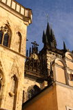 Prague old town architecture Royalty Free Stock Images