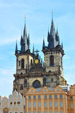Prague Old Town Church, Czech Republic Royalty Free Stock Photos