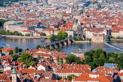 Prague Old Town Cityscape Royalty Free Stock Photo