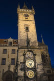 Prague Old Town Hall Stock Photography