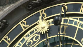Prague Old Town Hall stock video footage