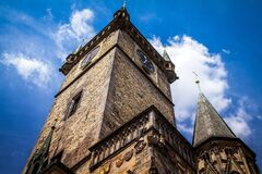 Prague Old Town Hall, Czech Republic Stock Image