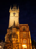 Prague Old Town Hall 01 Royalty Free Stock Images