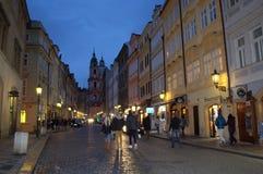 Prague Old Town at night Royalty Free Stock Photo