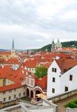 Prague. Old town. Petrin hill. Stock Photos