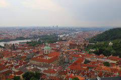 Prague Old town Roofs Stock Photography