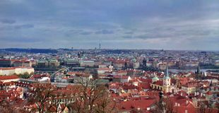 Prague, old town's skyline Royalty Free Stock Photo