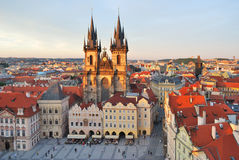 Prague. Old Town Square Royalty Free Stock Image
