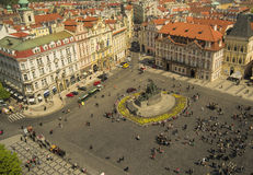 Prague old town square Stock Photography