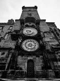 Prague old town square and Astronomical Clock Tower, Prague,. Czech Republic Stock Photos