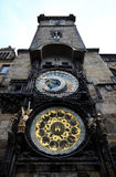 Prague old town square and Astronomical Clock Tower, Prague,. Czech Republic Stock Photography