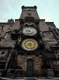 Prague old town square and Astronomical Clock Tower, Prague,. Czech Republic Royalty Free Stock Image