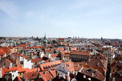 Prague, Old Town Square, City View Royalty Free Stock Image