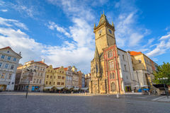 Prague old town square Royalty Free Stock Photo