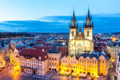 Prague Old Town Square Royalty Free Stock Photos