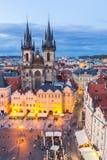 Prague Old Town Square Stock Photo