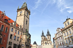 Prague old town square Royalty Free Stock Photography