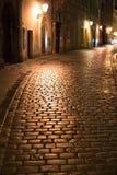 Prague Old Town street Stock Photos