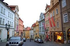 Prague Old Town street Royalty Free Stock Images