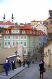 Prague Old Town streets Stock Image