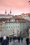 Prague Old Town streets Royalty Free Stock Photo