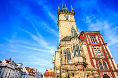 Prague, Old Town Tower, Czech Republic Royalty Free Stock Photo