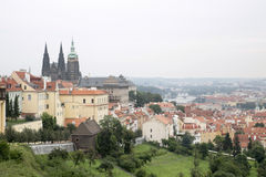 Prague old town view Stock Photos