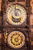 Prague Orloj Astronomical Clock Royalty Free Stock Images
