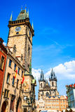 Prague, Orloj - Astronomical Clock,  Czech Republic Royalty Free Stock Images