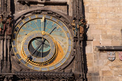 Prague Orloj Astronomical Clock Stock Photos