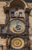 Prague orloj, Medieval astronomical clock on the Old Town Hall in Prague Royalty Free Stock Photo